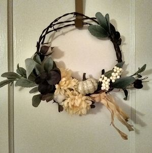 Barb wire country wreaths